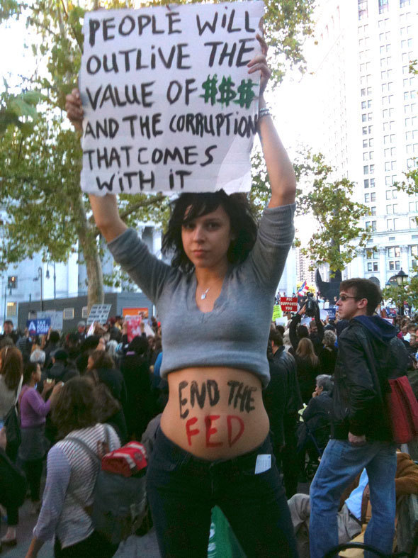 Top 10 Occupy Wall Street Protest Signs