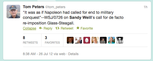 The Funniest Sandy Weill Twitter Responses