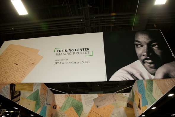 Images From the JPMorgan Chase Booth at the Recent Martin Luther King Jr. Expo