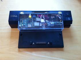 Dock with the Raspberry Pi-based Spy-Pi implant