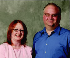 Welcom's Rachel Moen and Doug Hall