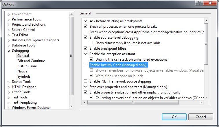 Visual Studio 2008 SP1  NET Framework Source Debugging   Dr