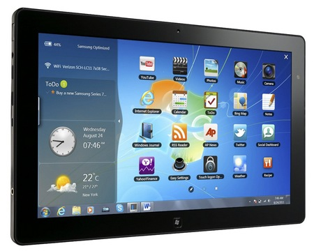 Description: Samsung Series 7 Slim Slate PC With Windows 7