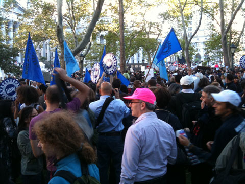 Occupy Wall Street Crowd 1
