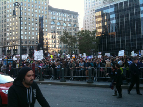 Occupy Wall Street Crowd 3