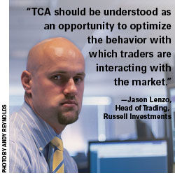 Jason Lenzo, Head of Trading, Russell Investments