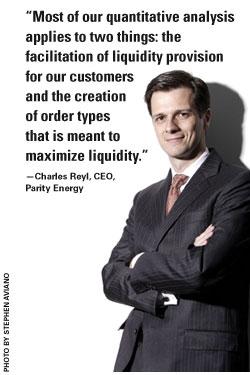 Charles Reyl, Parity Energy