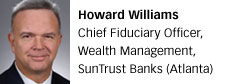 Howard Williams, SunTrust Banks