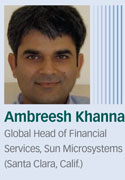 Ambreesh Khanna, Sun Microsystems