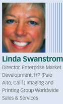 Linda Swanstrom, Imaging and Printing Group Worldwide Sales & Services