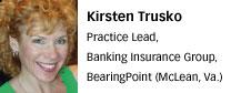 Kirsten Trusko, BearingPoint