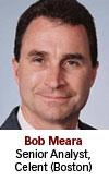 Bob Meara, Celent