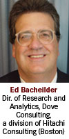Ed Bacheilder, Dove Consulting