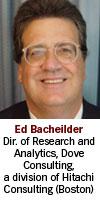 Ed Bacheilder, Dove Consulting