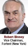 Robert Binney, Fortent