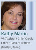 Kathy Martin, Bank of Bartlett