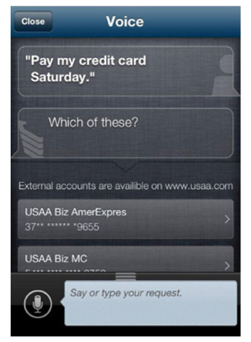 USAA Mobile Voice Engagement
