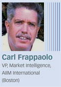 Carl Frappaolo, AIIM International
