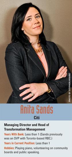 Anita Sands, Citi