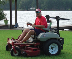 Dave McLeod's Lawnmower