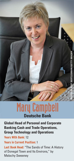 Mary Campbell, Deutsche Bank