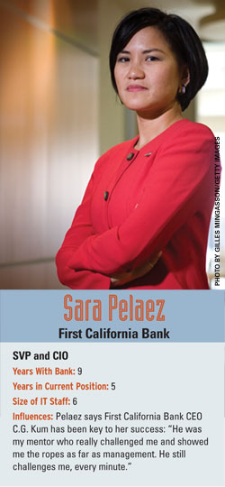 Sara Pelaez, First California Bank