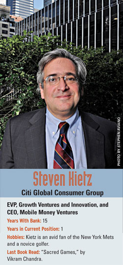 Steven Kietz, Citi Global Consumer Groupk