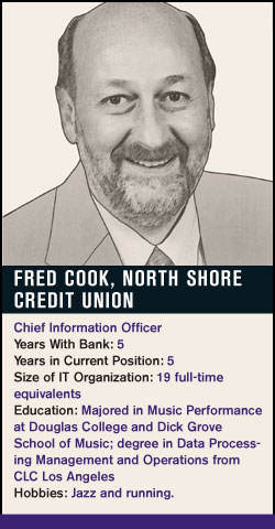 Fred Cook, North Shore Credit Union
