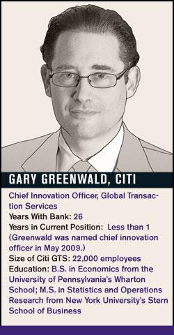 Gary Greenwald, Citi