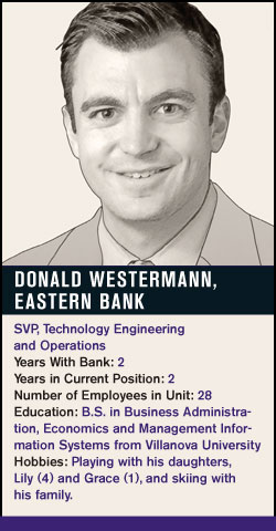 Donald Westerman, Eastern Bank