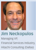 Jim Neckopulos, Hitachi Consulting
