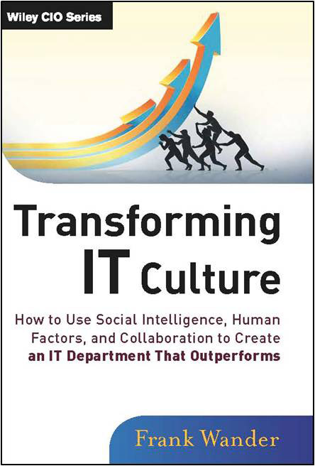 Frank Wander Transforming IT Culture Book