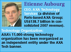 Etienne Aubourg, AXA