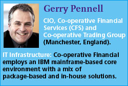 Gerry Pennell, Co-operative Financial Services
