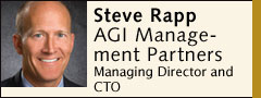 Steve Rapp, AGI Mangement Partners