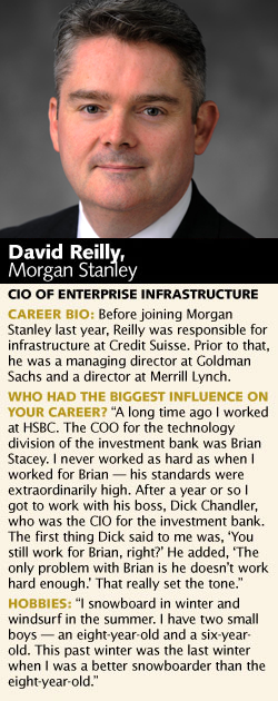 David Reilly, Morgan Stanley