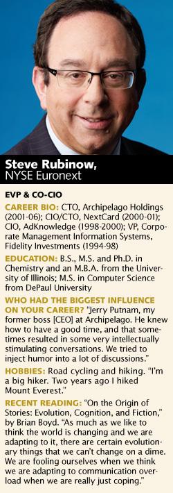 Steve Rubinow, NYSE Euronext