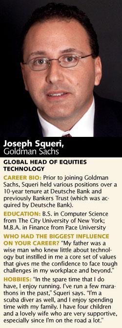 Joseph Squeri, Goldman Sachs