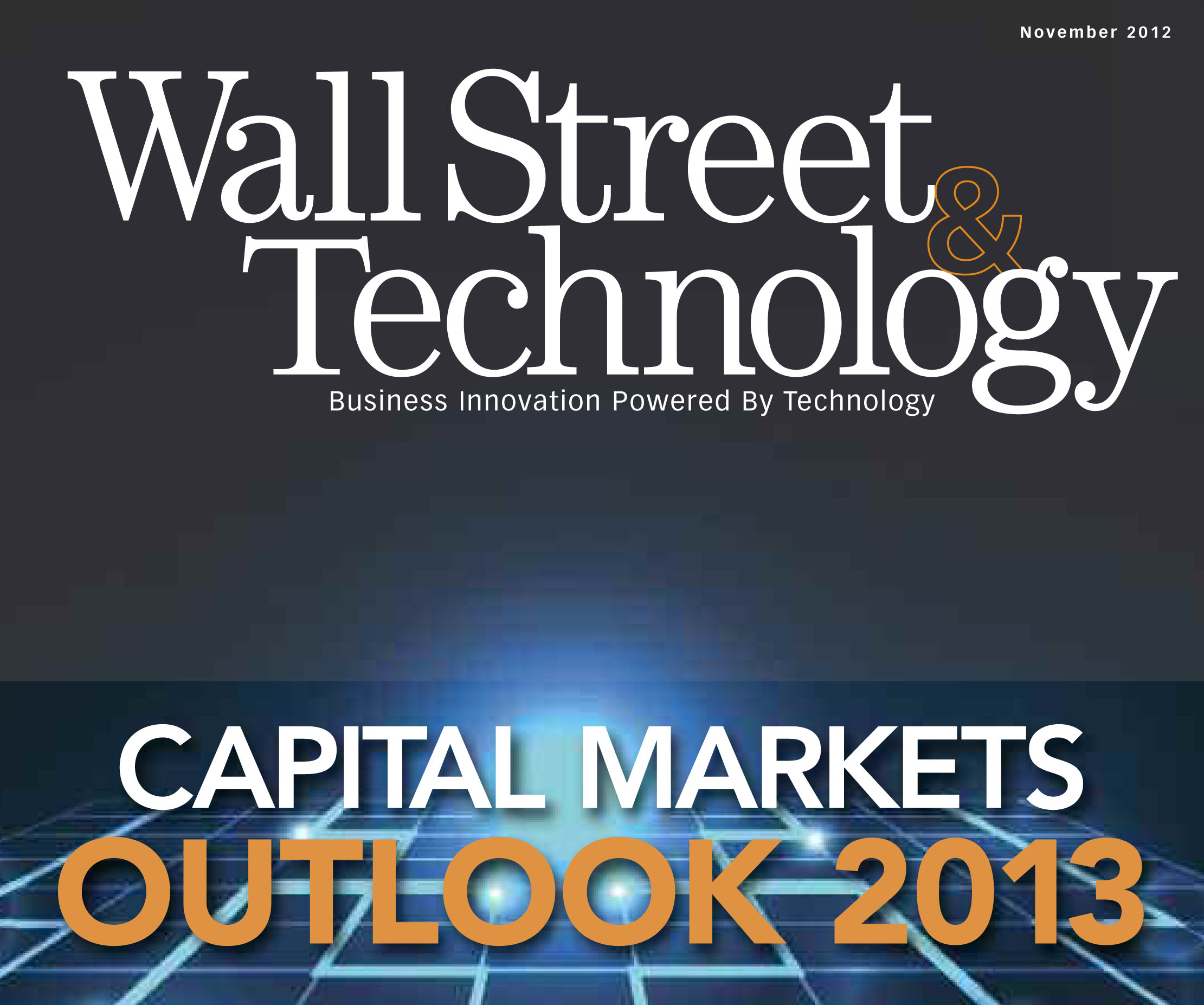 Capital Markets Outlook 2013