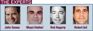 Julio Gomez, Mayiz Habbal, Rob Hegarty, Robert Iati