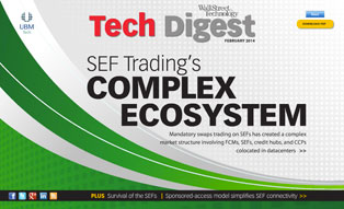 Cover for February 2014 Tech Digest