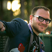 Internet activist Cory Doctorow