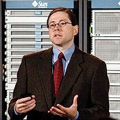 Sun CEO Jonathan Schwartz claims bragging rights