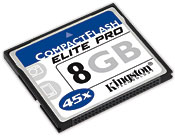 CompactFlash Elite Pro card