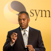 "Worms ""solved,"" Symantec chairman and CEO John Thompson says; now, about Microsoft ..."