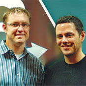 Co-founder and CEO Jeff Haynie; co-founder and CTO Nolan Wright