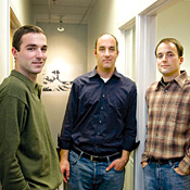Social network: Geoff, John, and Jeremy Kembel