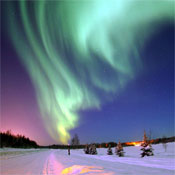 Northern Lights Over Alaska
