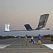 QinetiQ 's Zephyr Solar-Powered Aerial Vehicle