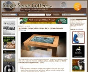 Within a month of launching, traffic on the niche site singleservecoffee.com doubled.
